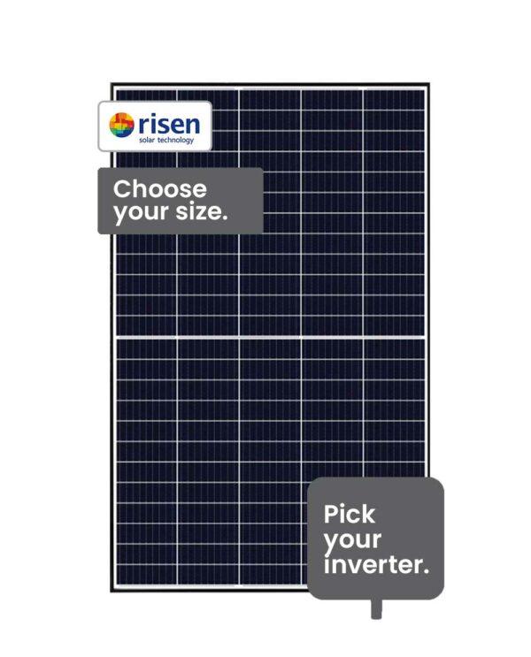 Risen Solar System 10.5 - 13.2 kW