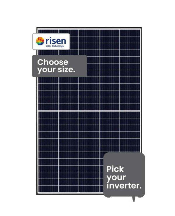 Risen Solar System-3.9 - 6.6 kW