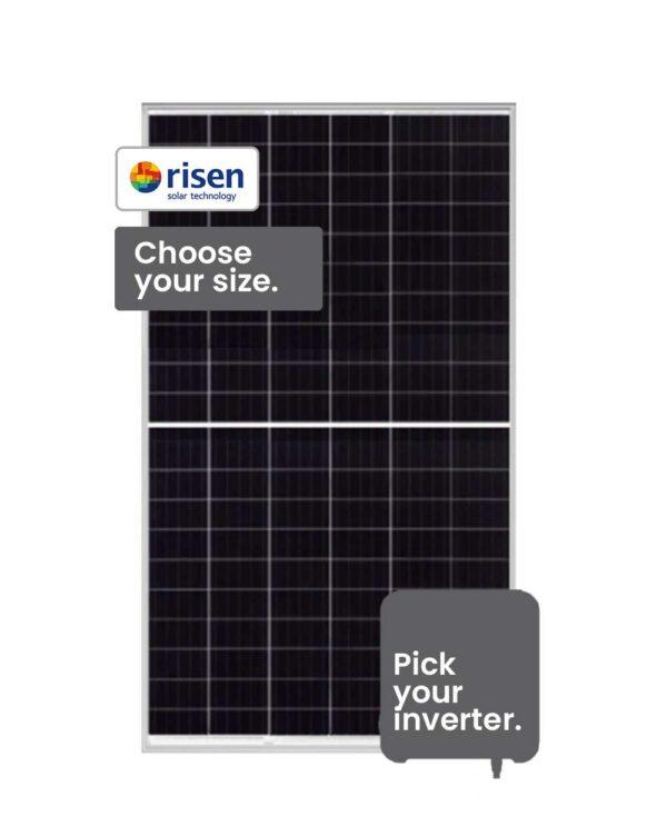 Risen Solar System 3-6 kW installed