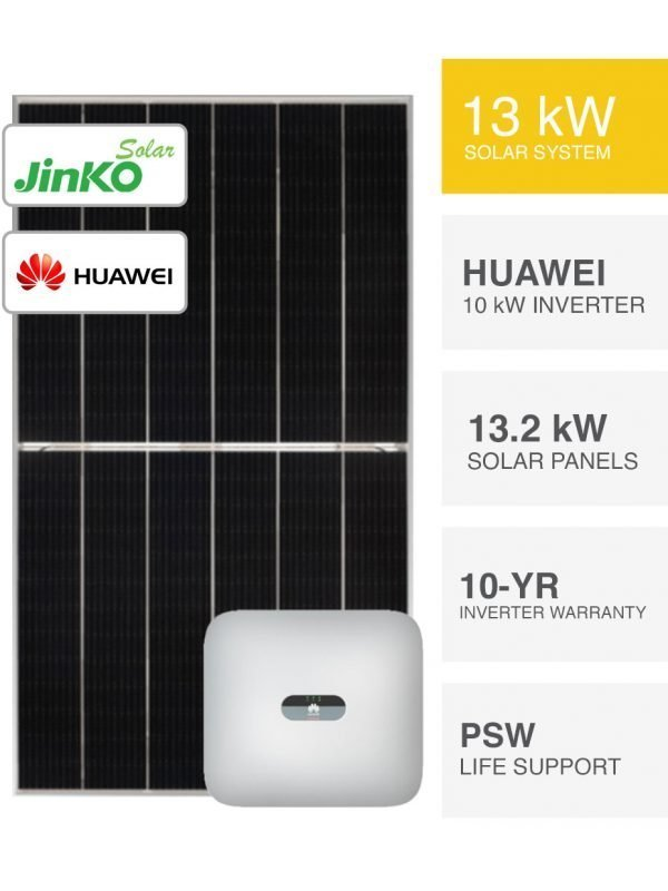 Jinko Tiger & Huawei Solar System by PSW Energy