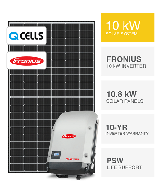 10kW QCells & Fronius Solar System by PSW Energy