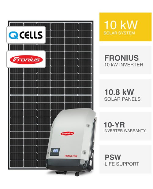 QCells & Fronius Solar System by PSW Energy