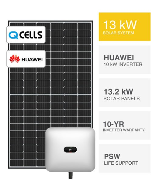 QCells & Huawei Solar System by PSW Energy