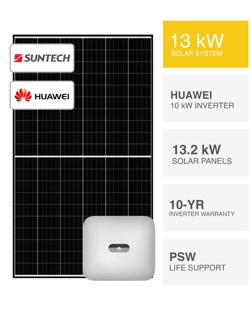 13kW Suntech & huawei Solar System by PSW Energy