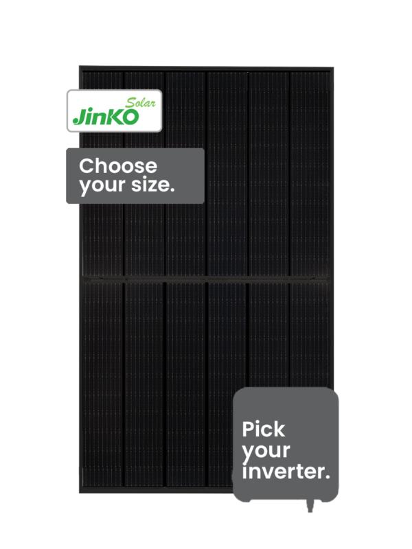 Jinko Tiger Solar System 3-6kW by PSW Energy