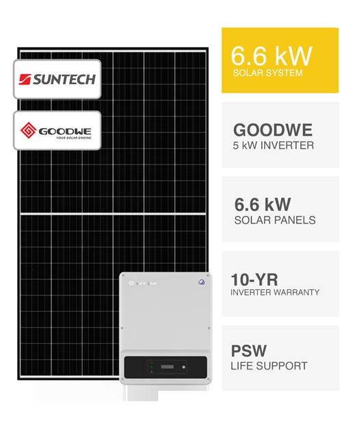 6.6kW Australian Solar by PSW Energy