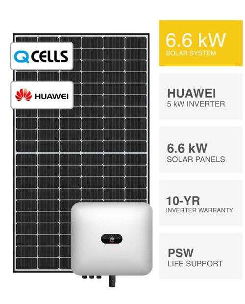 6.6kW-QCells-&-Huawei-Solar-System-by-PSW-Energy-500x620