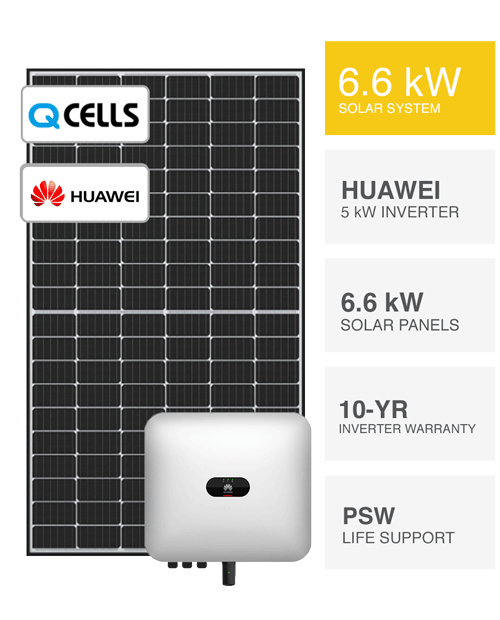 3kW QCells & Huawei Solar System by PSW Energy