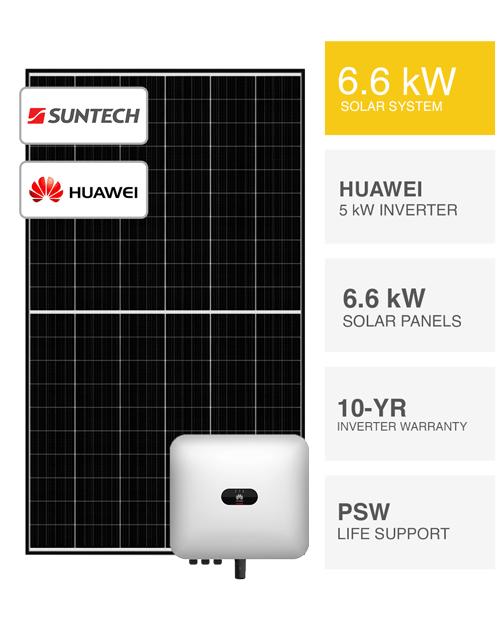 6kW Suntech & huawei Solar System by PSW Energy