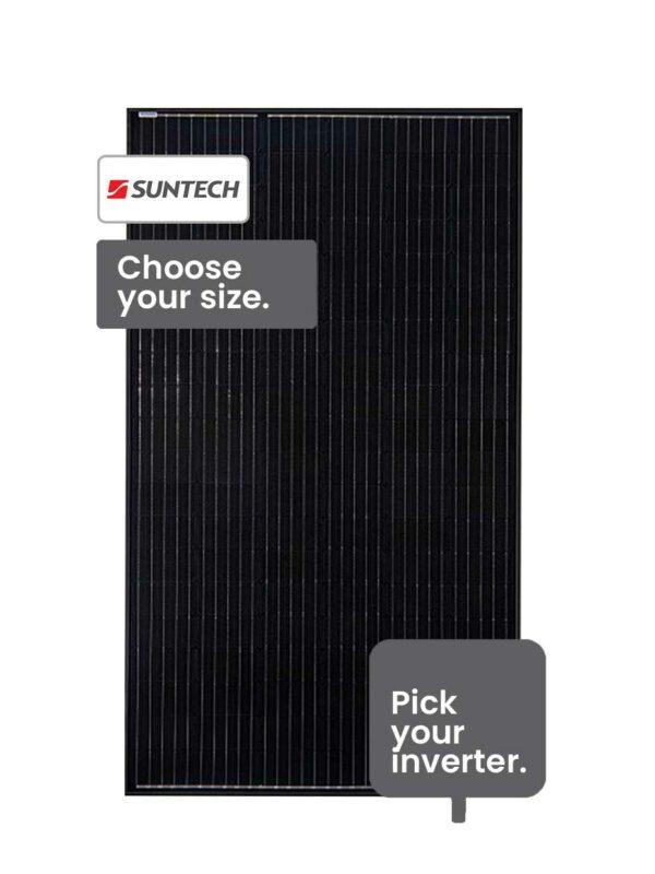 Suntech Solar System 10-13 kW installed