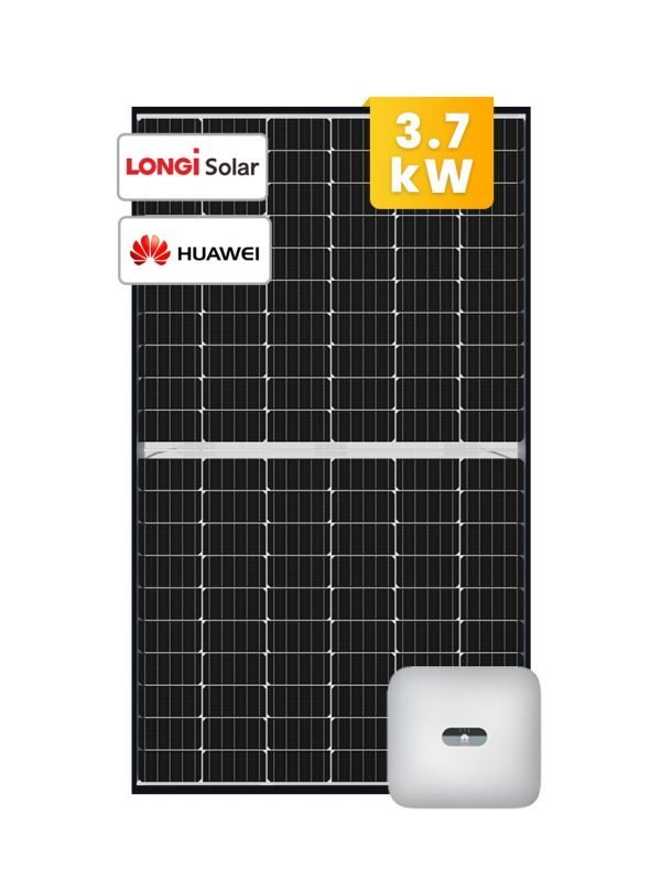 LONGi Solar System 3-6 kW with 3kW Huawei