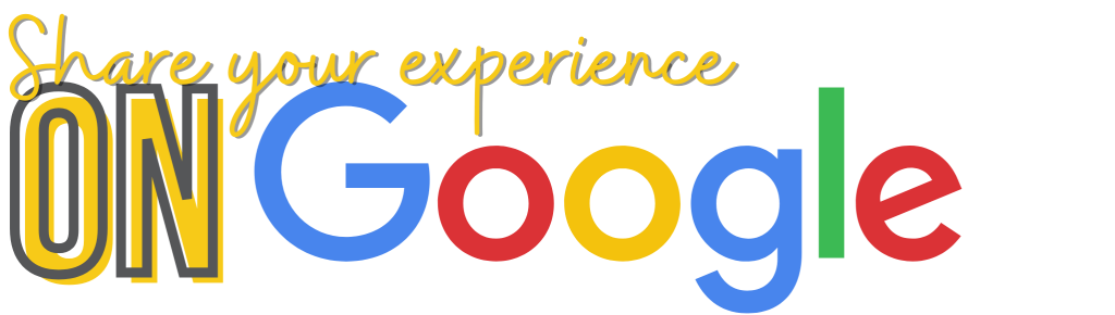 Share your experience on google